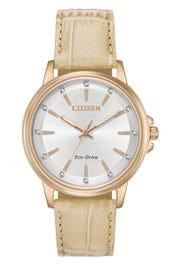 Citizen Eco-Drive Ladies' Silhouette Crystal