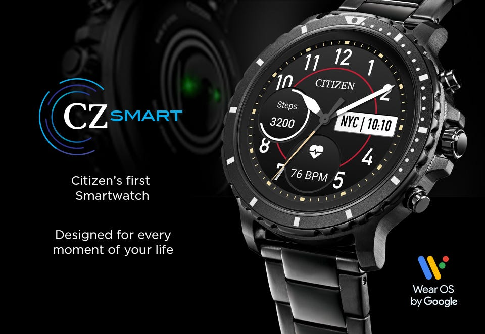 Register Your Interest in the NEW CZ Smartwatch